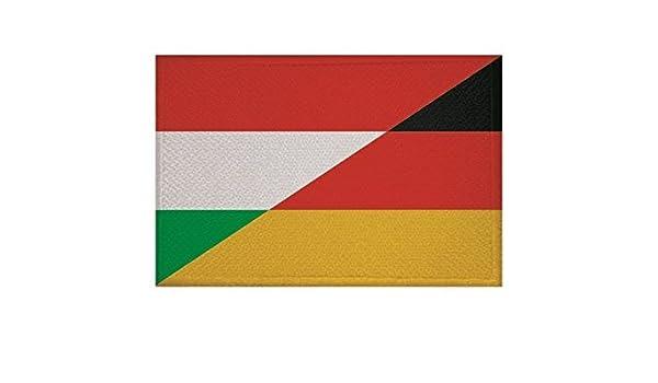 UB Aufn/äher Ungarn Flagge Fahne Aufb/ügler Patch 9 cm x 6 cm Neuware!!!
