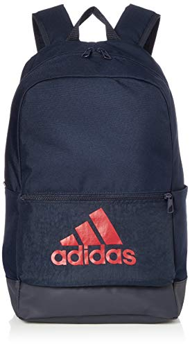 adidas CLAS BP BOS Gym Backpack, Legend Ink/Active red, One Size