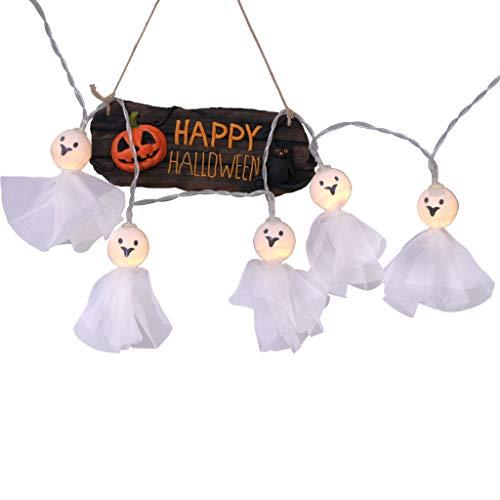Myspace 2019 Neueste Dekoration für Halloween LED Elf Doll Lichterketten für Halloween Party Haunted House Decoration