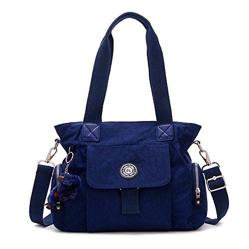 Jothin - Hobo borse Ragazza unisex da bambini donna unisex adulti Navy Blue