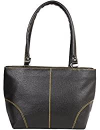 Desi Satchels Handbag For Office Women's, Girls & Ladies (Black, Light Weight Small)