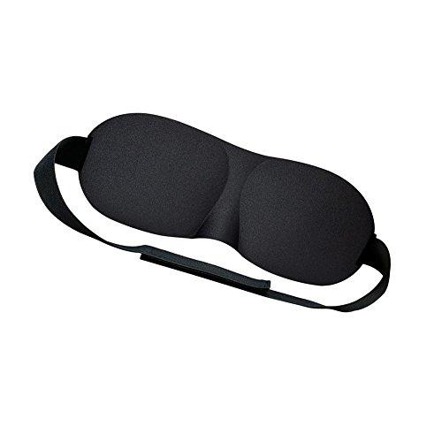 Weesey 3D Sleep Mask Sleeping Eye Mask Eyeshade Cover Shade Patch Soft Blindfold Travel (Flat Eye Patch)