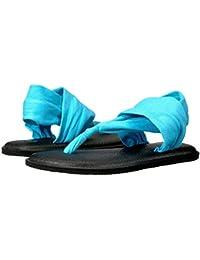 91a4b7d161b65 Amazon.fr   Sanuk - Tongs   Chaussures femme   Chaussures et Sacs