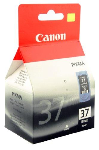 Canon PG-37 Tintenpatrone schwarz (Pixma Canon 210)