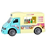 Teamsterz Die-cast Ice Cream with Sounds | Kids Try Me Metal Toy Fun Vehicles Great For Children Aged 3+