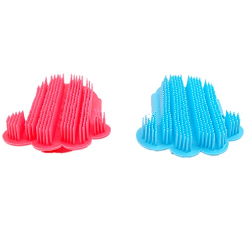 fully-2x-pet-dogs-cats-combs-massage-bath-glove-bath-grooming-brushes-washing-bluered