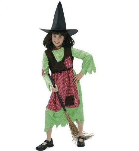 FASCHING 11434 Kinder- Kostüm Hexe Wanda, Kleid, Halloween: Größe: 164 (Hexe Wanda Kostüm)