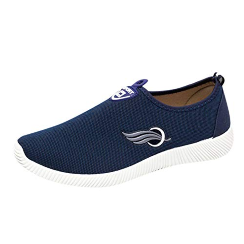KERULA Sneakers, Summer Men's Flat Shoes Non-Slip Casual Sport Walking Lazy Neakers Soft Mesh Shoe All Star Comfy Mesh-Comfortable Breathable Work Low Top Sneakers Running füR Damen & Herren