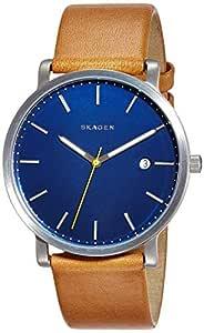 (Renewed) Skagen Hagen Analog Blue Dial Mens Watch - SKW6279#CR