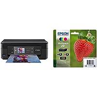 Epson Expression Home XP-452 Print/Scan/Copy Wi-Fi Printer, Black