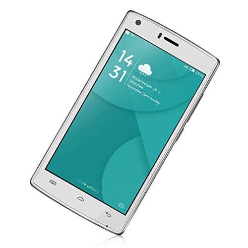 Thread_de DOOGEE X5 Max Pro Smartphone 5 Zoll Bildschirm 2 + 16 GB 4G Telefon Fingerabdruck Android6.0 Dual SIM Dual Standby MTK6737 Quad Core 4000 mAH GPS Kamera Pixel: 8.0MP (Weiß)