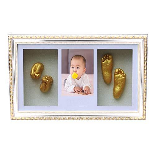 MYAMIA Fuß Der Hand 3D, Der Neugeborenen Baby-Abdruck-Foto-Rahmen Wirft