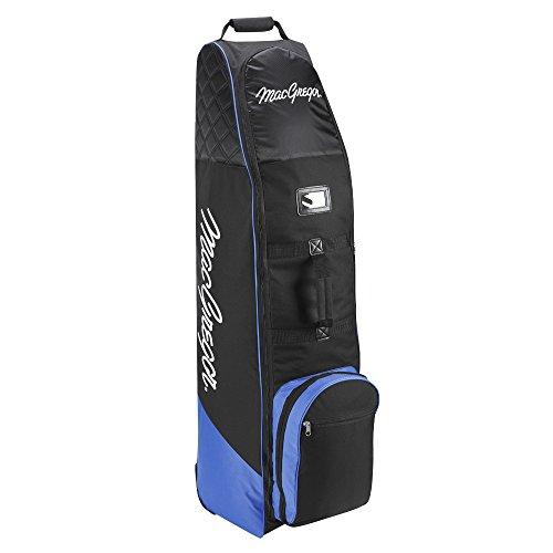 2015Macgregor Deluxe Golf Reisetasche Premium Cover Rädern, schwarz / blau (Wheeled Travel Bag)