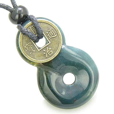 Infinity Magic Knot Lucky Coin and Good Luck Amulet Indian