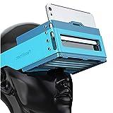 Faltbares Virtual Reality Headset VR Brillen, die mit Importierten Taschen Geladen Werden Können 360 Grad Seherlebnis Kompatibel mit Allen 4,7-6,0 Zoll Bildschirm Smartphones
