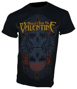 Bullet For My Valentine - T-Shirt WINGED SKULL Gr. M - Bandshirt