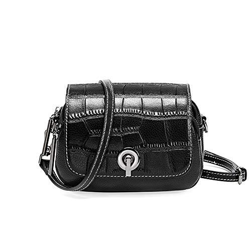 JKLP Leder Messenger Bag Leder Flap One Schultertasche -