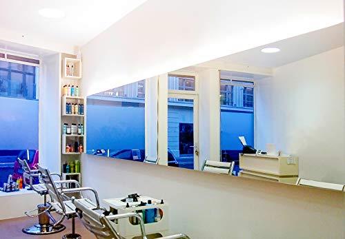 BE GLASS Spiegel nach Maß, 4mm Dicke, Zuschnitt Aller Größen millimetergenau bis 80 x 200 cm (800 x 2000 mm), Kanten geschliffen und poliert. Günstig und schnell direkt ab Werk, versicherter Versand.