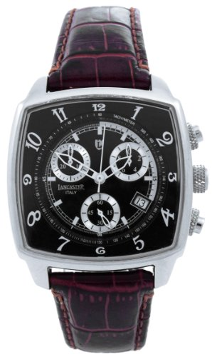Unico cronografo Lancaster Unisex-Guarda pelle 0262SWR