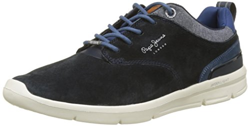London - Zapatillas Hombre, Azul (Blue), 43 (EU) Pepe Jeans London