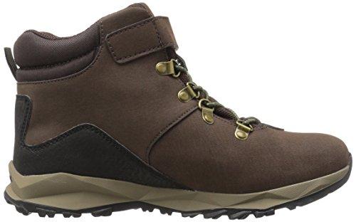 Merrell Jungen ml-b Alpine Casual Boot Waterproof Trekking-& Wanderhalbschuhe Braun (Brown)