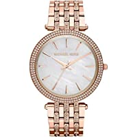 Michael Kors Darci Women's Mother of Pearl Dial Stainless Steel Band Watch - MK3220