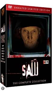 SAW 1-7 Box Set - UNRATED LIMITED EDITION - The Complete Collection [import]