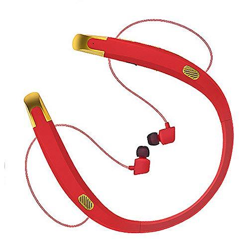 NCBH Sport Bluetooth Headset Lautsprecher Nackenbügel Drahtlose Lautsprecher Headset Neck-Hend 5.0 Stereo Kann Audio für Workout Laufen Joggen aufrufen