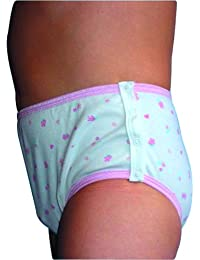 Girls Drop Down Trainer Pant (Hearts, S)