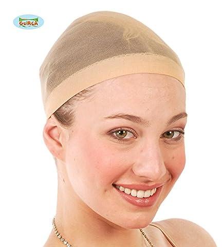 Nylon Stretch Wig Cap 2 pcs Unisex