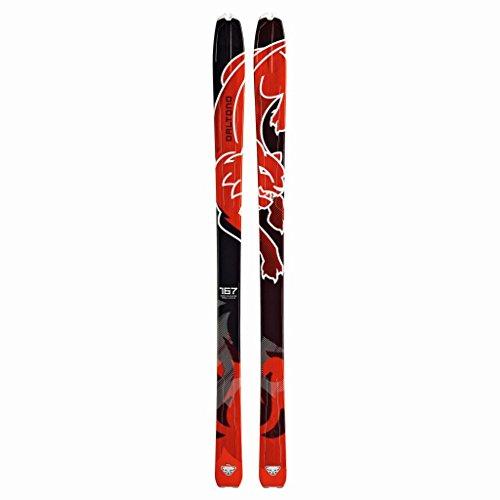 DYNAFIT Touren Ski Baltoro 2.0, Unisex, Tourenski Baltoro 2.0, DarkRed/Black, 176