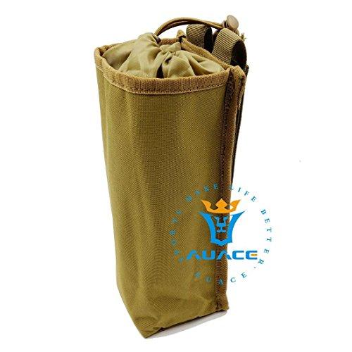 Multifunzione sopravvivenza Gear Pouch Tattico Molle Pouch impermeabile Bottiglia d' acqua Pouch, campeggio portatile calore freddo bottiglia d' acqua Borsa, OD KH