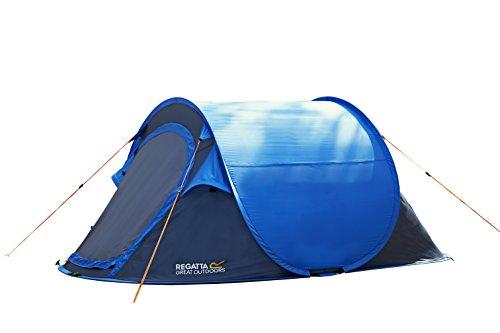Regatta Two Man Malawi Outdoor Pop-Up Tent - Oxford BlueSeal Grey