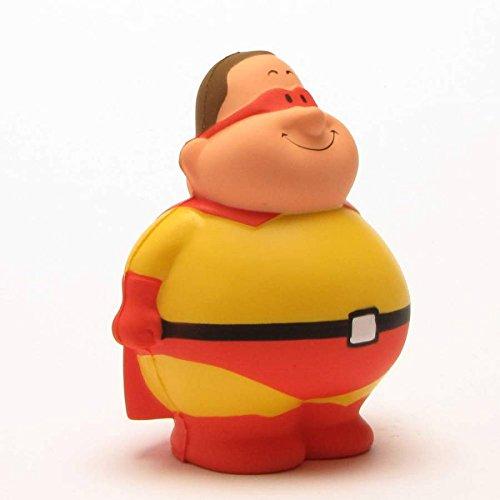 (Super Bert I Knautschfigur I Stressball I Anti-Stress I Handtrainer I H: 10 cm)