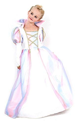 in Kinderkostüm Königin weiss-gold 140/152 (10-12 Jahre) (Bezaubernde Prinzessin-kostüm)