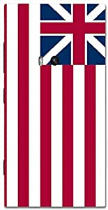 Timpax Protective Armour Case Cover lightweight construction easily slides in and out of pockets. Multicolour Printed Design : An American Flag.For Nokia Lumia 920 ( Microsoft Lumia 920 )