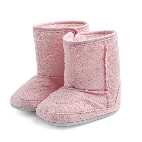 Baby Winter warme Schnee Stiefel, Tukistore Weiche Sohle Krippe Schuhe Stiefel Faltbar Babyschuhe Kleinkind Prewalker Boot Schuhe für Neugeborene Kinder Jungen Mädchen (Schnee Stiefel Warme)