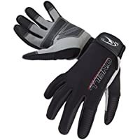 ONEILL WETSUITS O 'Neill Wetsuits Hombre Explore 1mm Gloves, Todo el año, Hombre, Color Negro - Negro, tamaño Extra-Large