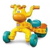 ZHAOHUIFANG Spielzeug Baby Junge Kind Rutsche Drei Runden Kinderwagen Giraffe Spielzeug Pedal Fahren Kind Kleinkind Kunststoff Auto