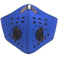 DODOING Staubmasken Feinstaubmaske Atemschutzmaske mit Ventil PM2.5, Motorrad Fahrrad Outdoor Sport Training Face... preisvergleich bei billige-tabletten.eu