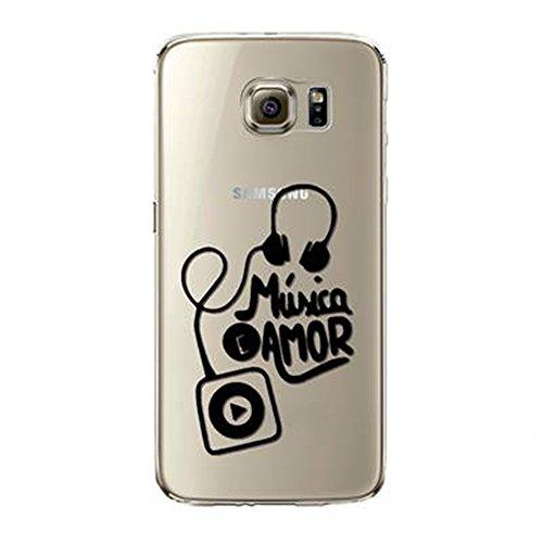 Coque Galaxy S7 Vanki® Ultra Hybrid Coussin d'air TPU Absorption de Choc Ajustement Parfait Etui Silicone Souple Coque Pour Samsung Galaxy S7 -Mot design personnalisé 9