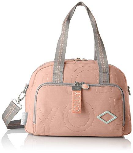 Oilily Damen Spell Handbag Mhz 1 Henkeltasche, Beige (Nude), 15x22x32 cm