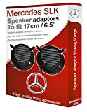 Mercedes SLK R170Lautsprecher Adapter Adapterringe für Vordertür 17cm Ring 6,5Adapter