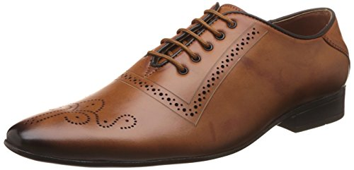 Auserio Men's Tan Formal Shoes - 7 UK/India (41 EU)(SS 937)