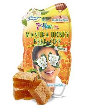 3 Sachets of Montagne Jeunesse 7th Heaven Manuka Honey Peel Off Face Mask 10ml for Combination Skin