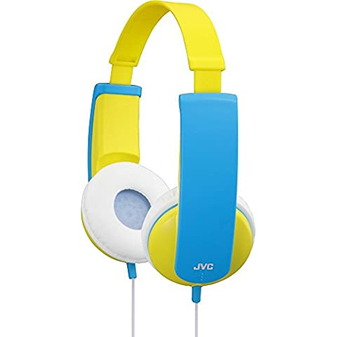 JVC HA-KD5 - Auriculares de diadema abiertos, azul