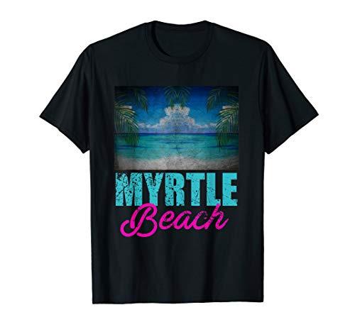 Myrtle Beach T-Shirt Vacation South Carolina T-Shirt T-Shirt - South Carolina Rot Shirts