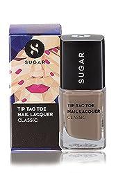 SUGAR Tip Tac Toe Nail Lacquer, 011 Creme (Brown Nude)