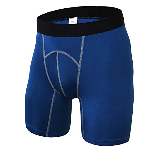 Performance Thermal-unterwäsche (Yalatan Herren Running Kompression Shorts Base Layer Tight Running Gym Fitness Shorts)