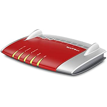 AVM FRITZ! Box 7490 International Modem Router Wireless AC 1750, ADSL2+, Fibra (VDSL), Telefonia Analogica e/o VoIP, Base Dect, Centralino, Segreteria, 4 LAN Gigabit, 2 Usb 3.0, 2 FXS